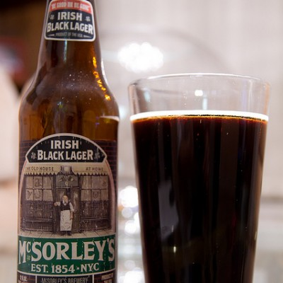 McSorley's Black Irish Lager