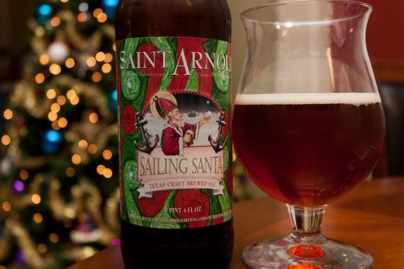 Saint Arnold Sailing Santa - Beers and Ears