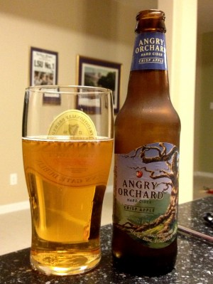 Angry Orchard Hard Cider – Crisp Apple