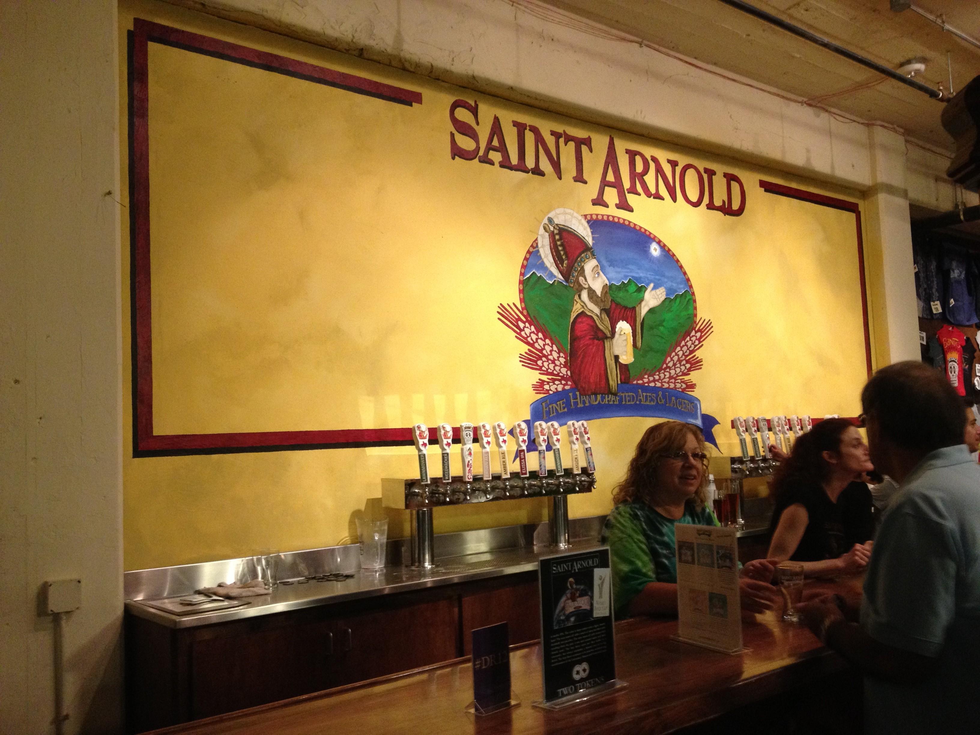 Saint Arnold Brewery Tour Houston