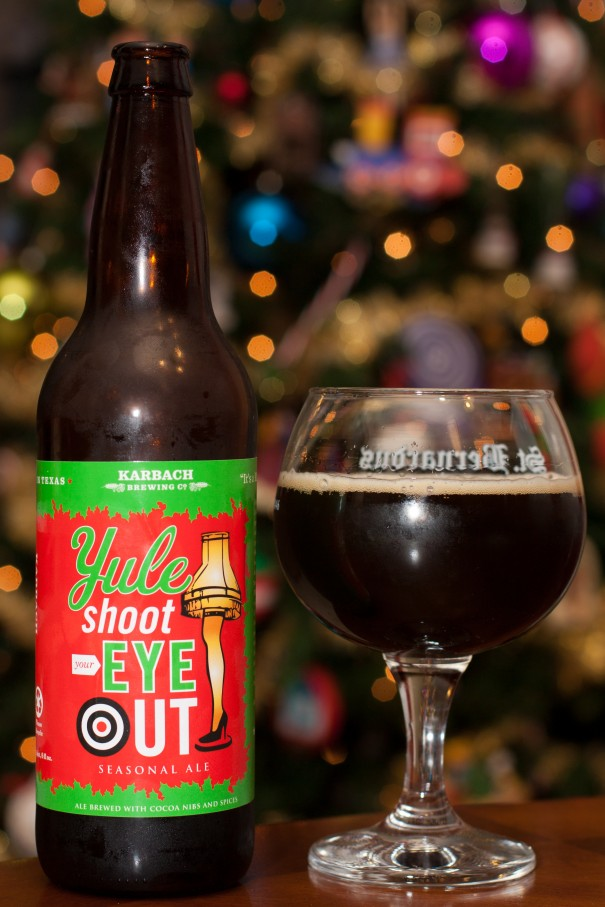 Karbach Brewing Co Yule Shoot Your Eye Out Beers And Ears