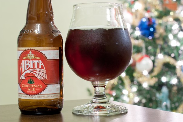 this years is a dark brownish beer with reddish highlights the head is thin and quickly dissipates lighter scents of spices and caramel - Christmas Ale Recipe