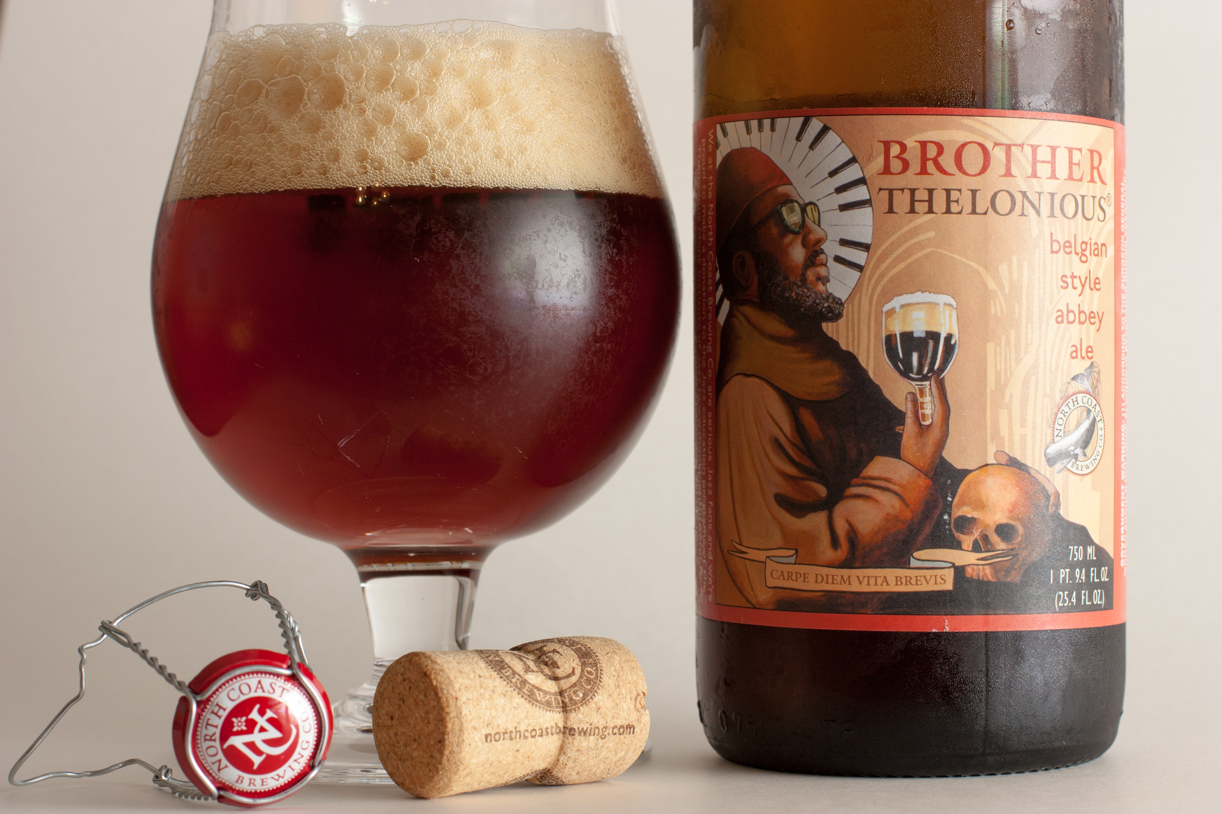 North Coast Brewing Co. Brother Thelonious - Beers and Ears