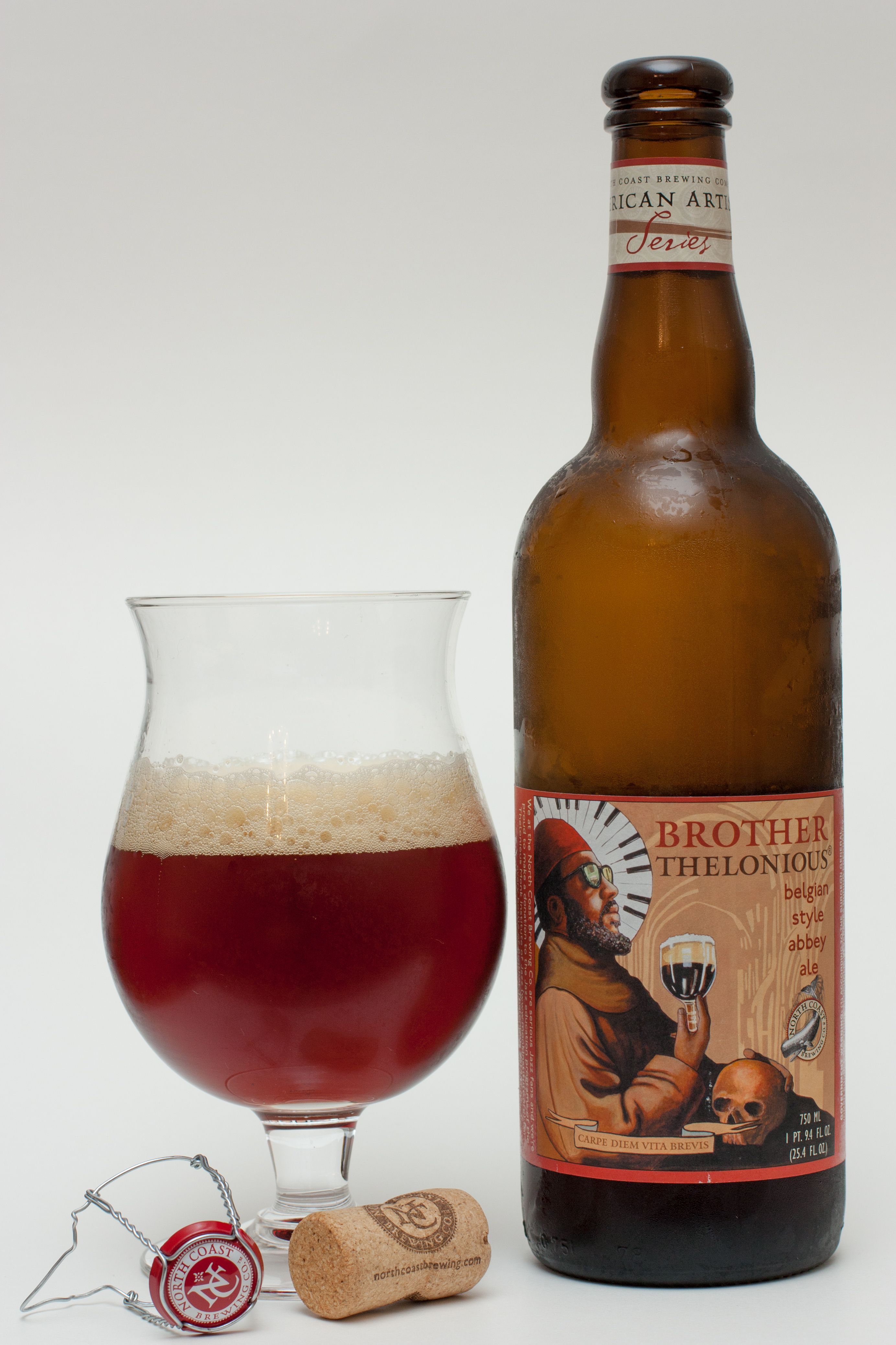 North Coast Brewing Brother Thelonious - Beers and Ears