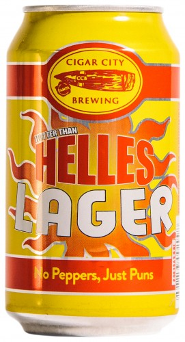 Cigar City Hotter than Helles