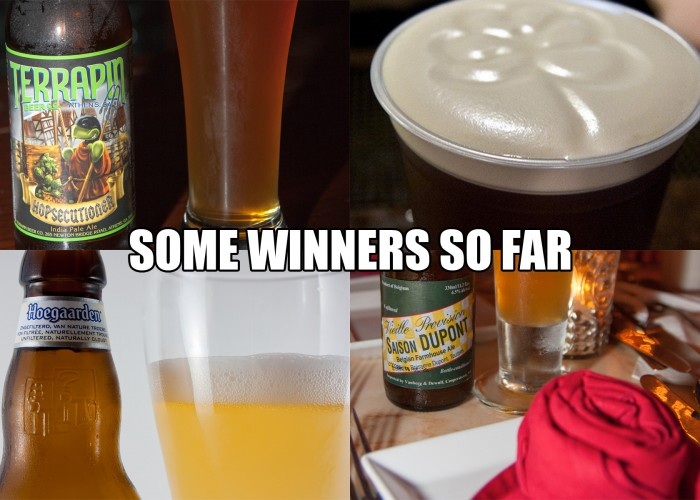 2014 Disney Beer Round 1 Winners