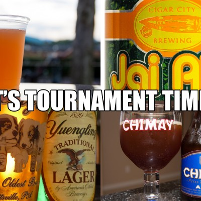 2014 Disney Beer Tournament Time
