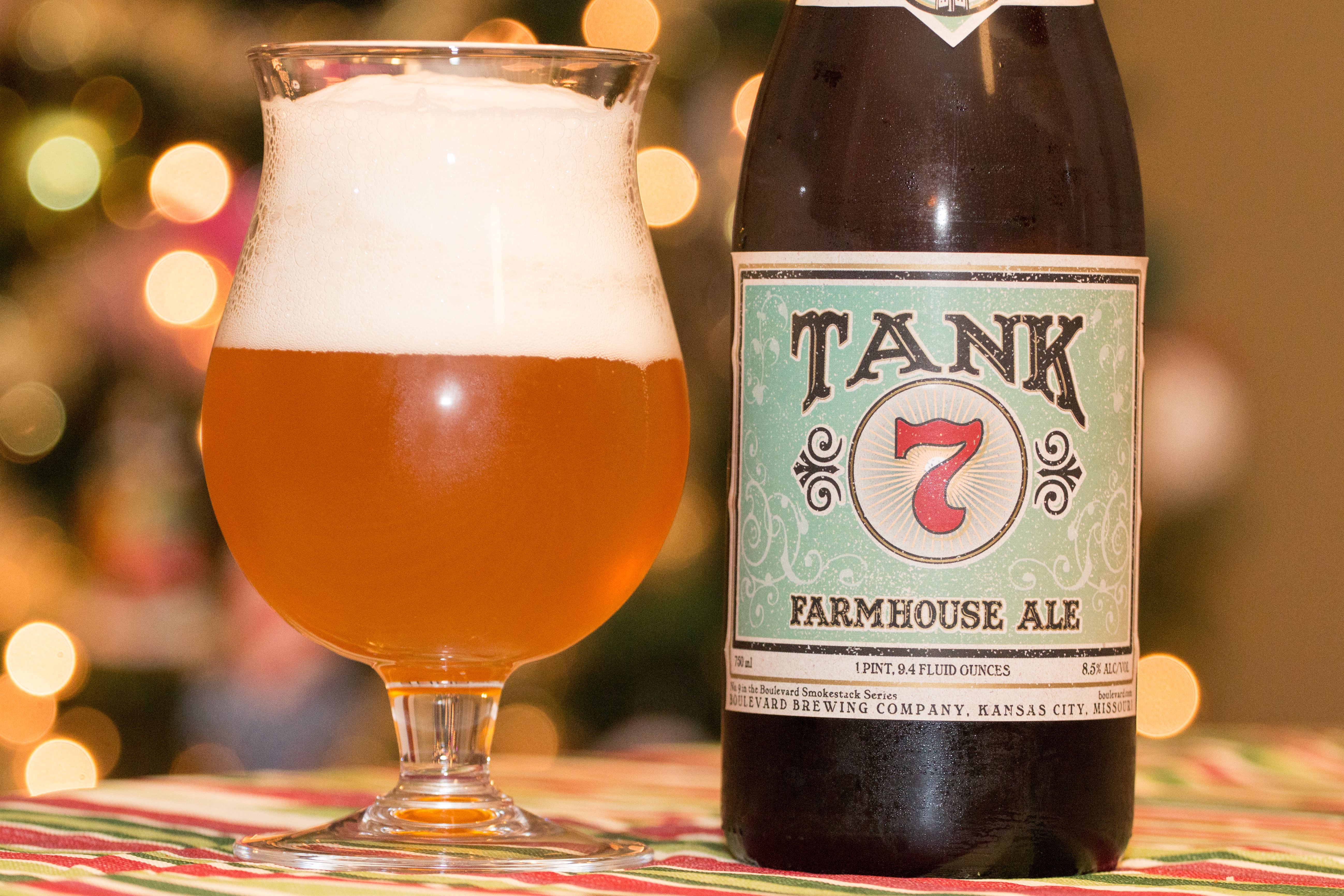 Boulevard Tank 7 Farmhouse Ale Beers and Ears